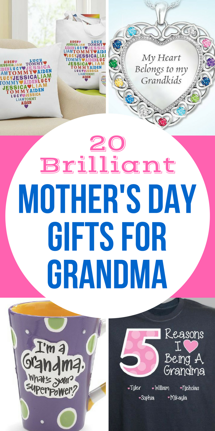 Mother S Day Gifts For Grandma 2018 Top 20 Gift Ideas Grandma