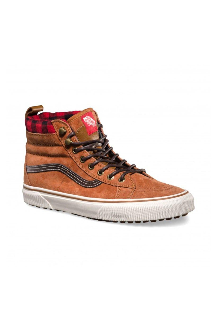 vans sk8-hi mountain edition mte shoes glazed ginger