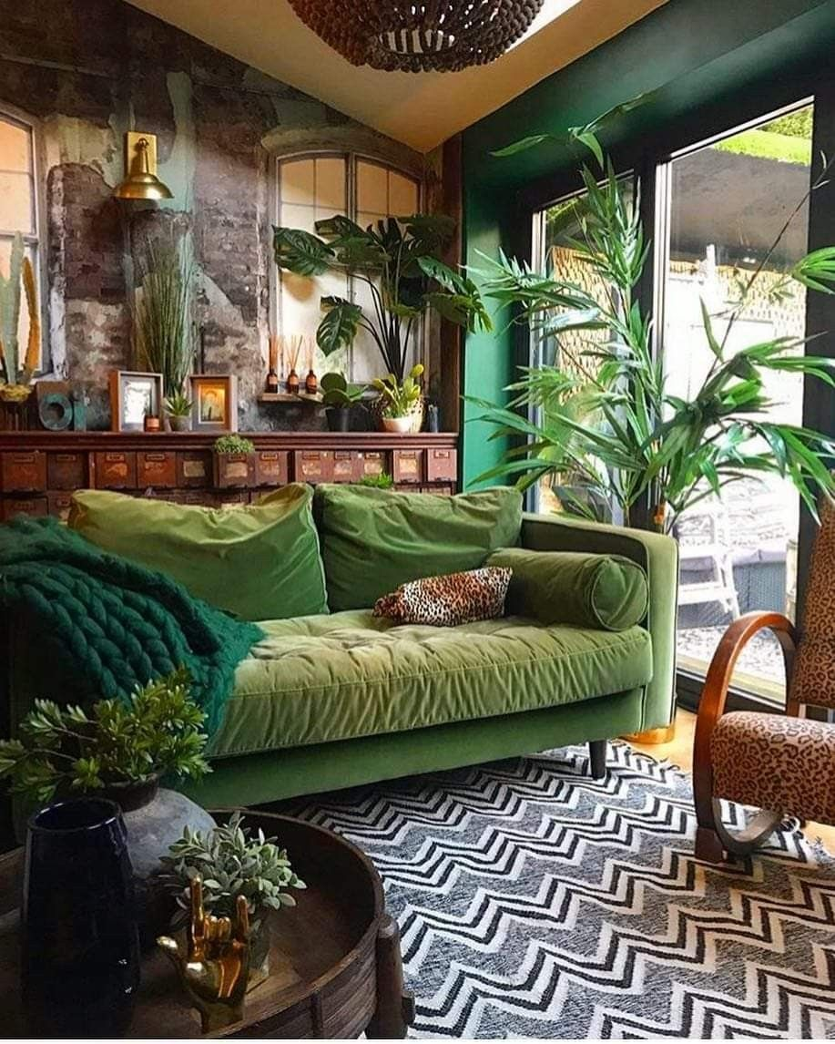 Green Living Room Decor Living Room Decor Green Rooms House Design