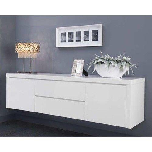 Tv dressoir new york zwevend kasten dressoirs pinterest dressoir tv en zen - Eigentijdse designkast ...