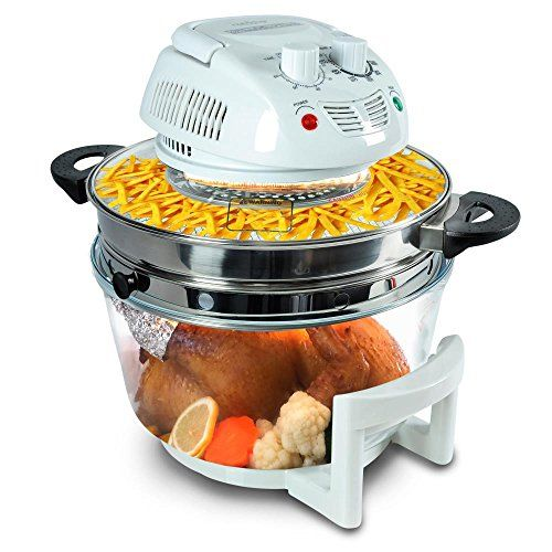 NutriChef Air Fryer, Infrared Convection Oven, Halogen Oven ...