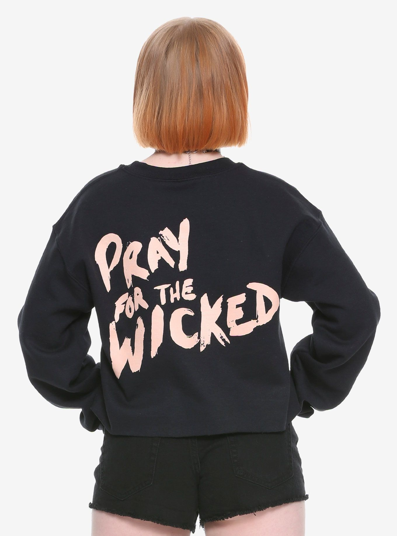 37bc3ab0 Panic! At The Disco Pray For The Wicked Crop Sweatshirt in 2019 ...