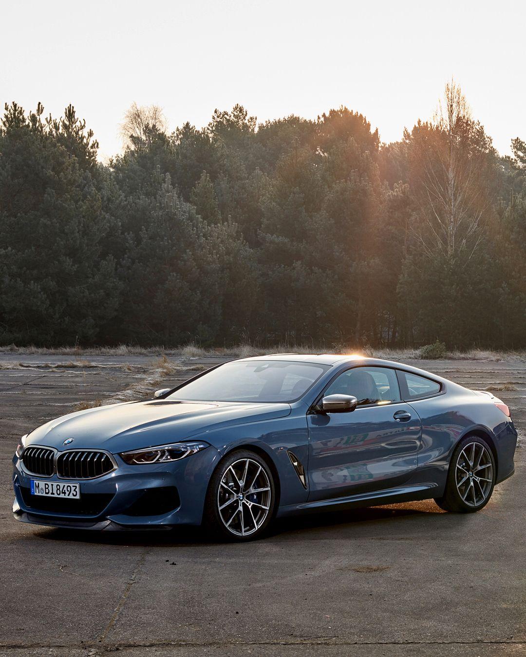 Bmw 8 Series Coupe Bmw Bmw Blue