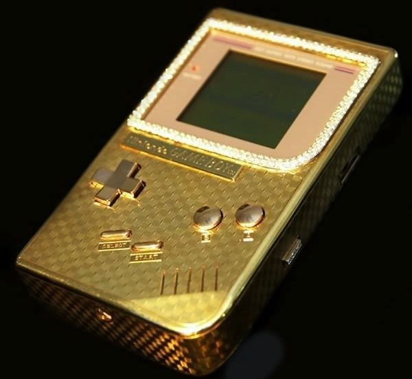 10 Diamond Encrusted Items | Functional | Custom consoles, Games