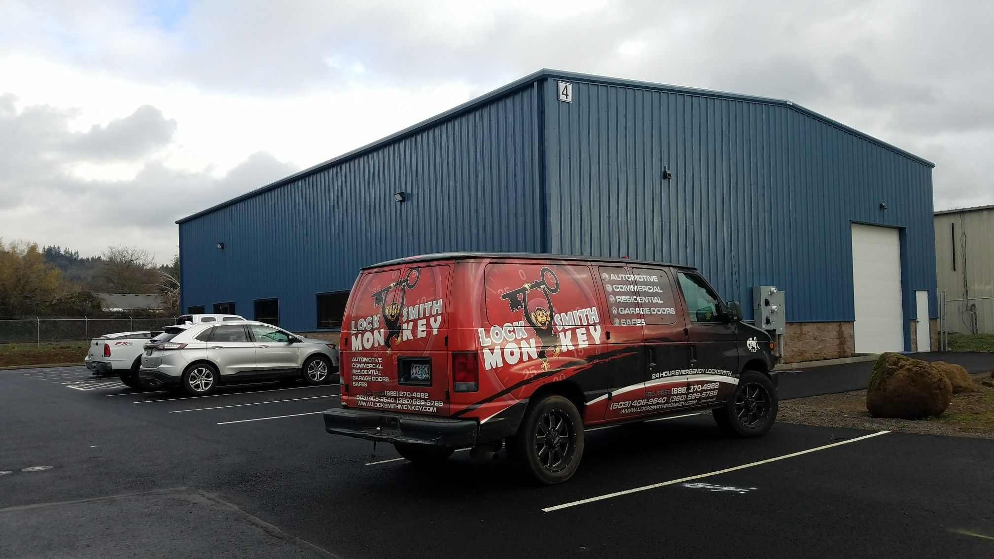 Commercial Lock Installations & Repair Services