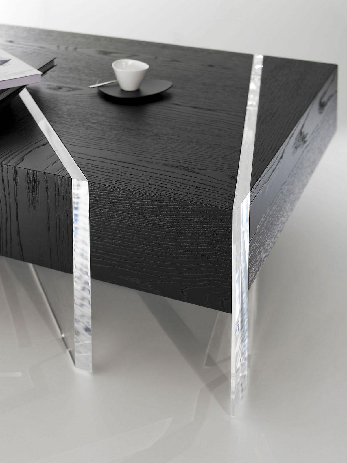 Low Rectangular Coffee Table Kristal La Maison Turrini Coffee Table Acrylic Furniture Design Rectangular Coffee Table [ 1600 x 1200 Pixel ]