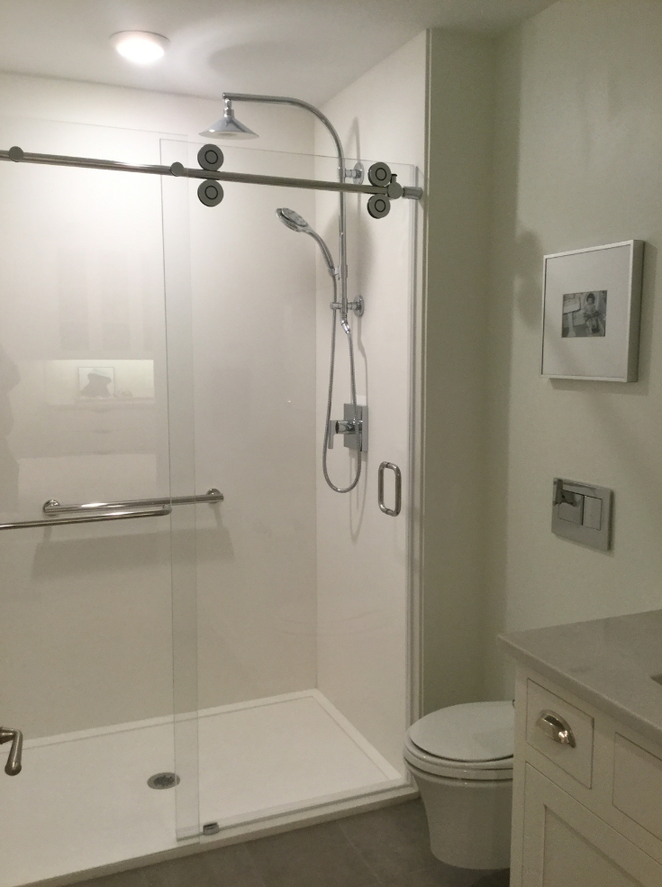 tile shower base  wall panel replacement ideas  innovate