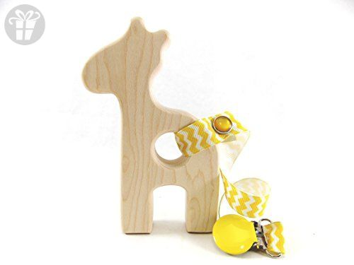 Giraffe Wooden Teether Amazon Partner Link Made Of Wood Baby