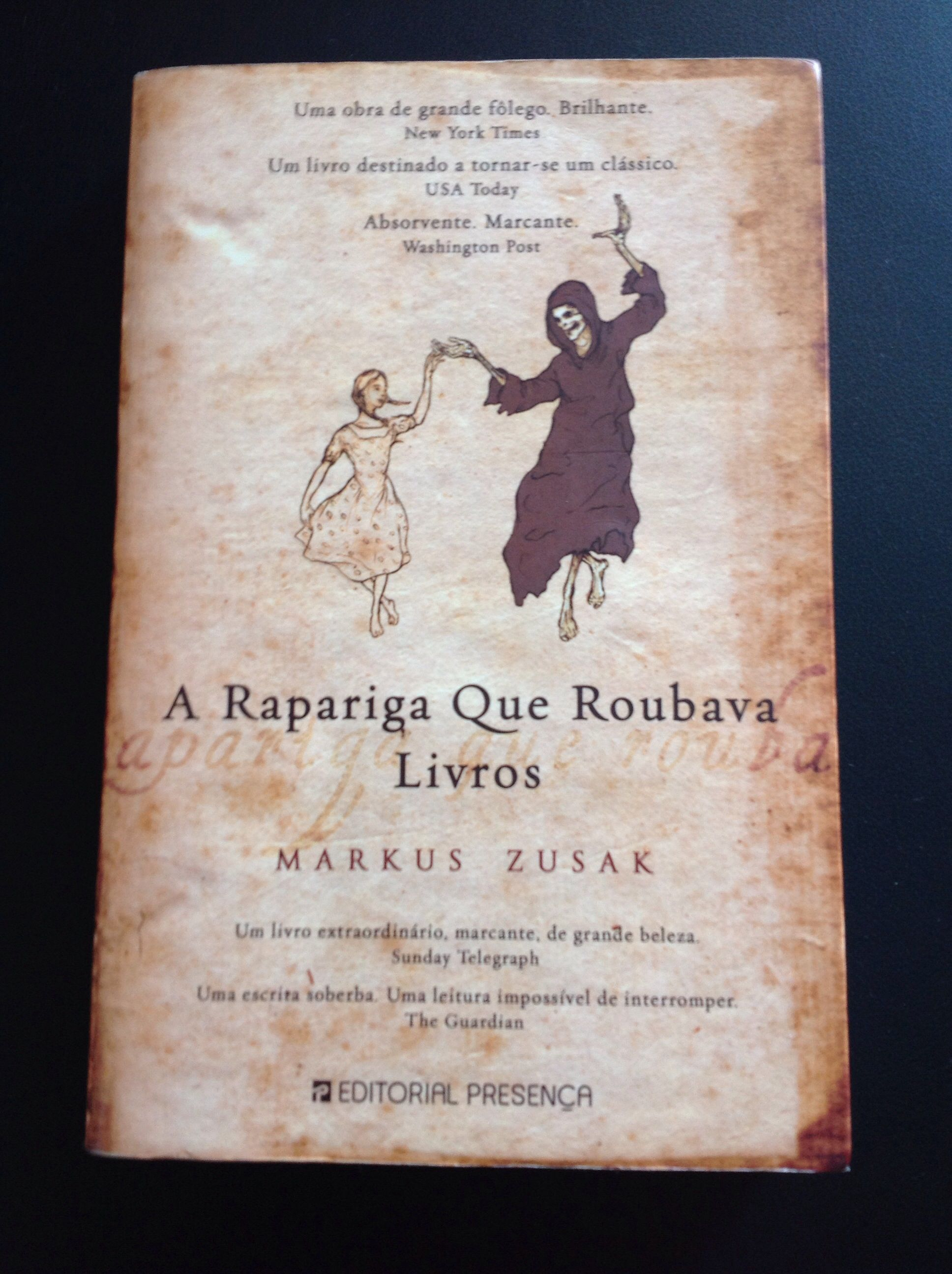 A Rapariga Que Roubava Livros Markus Zusak Usa Today E Livros