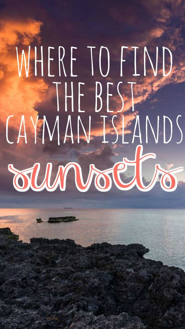 The Ultimate List Of The Best Cayman Islands Sunset Spots