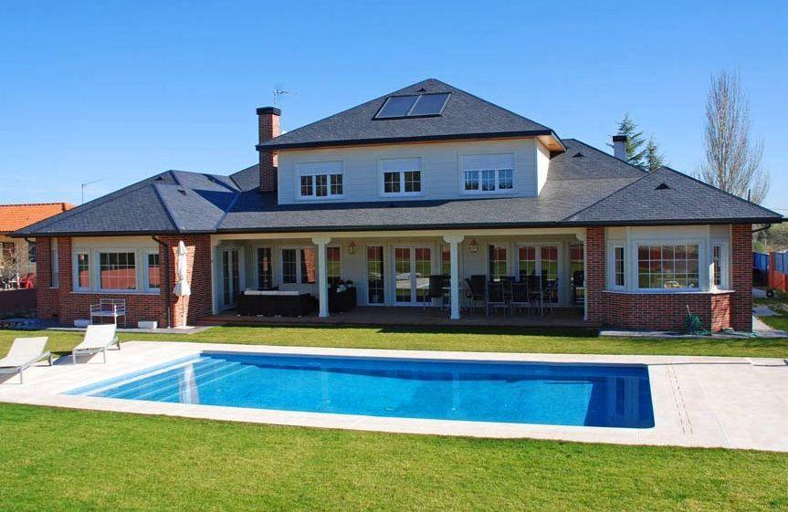 Fachadas De Casas Grandes Y Bonitas Jpg 863 561 House Styles House Architecture