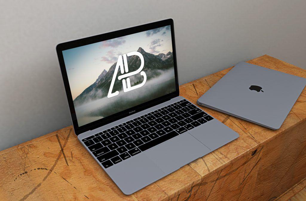 Free Realistic Space Grey Macbook Mockup Macbook Mockup Macbook Mockup Free Free Mockup
