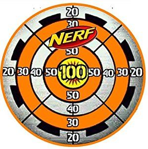 Invaluable image with regard to nerf target printable