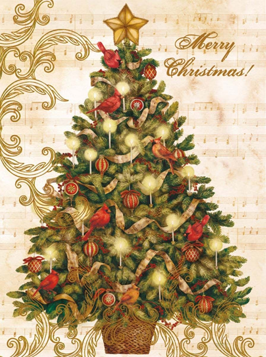 Christmas Tree Christmas Cards , 1004694 | Lang | Новый год ...