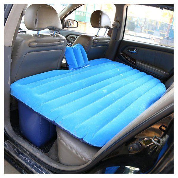 Le matelas gonflable pour mieux dormir dans sa voiture en road trip road trips - Matelas gonflable pour voiture ...