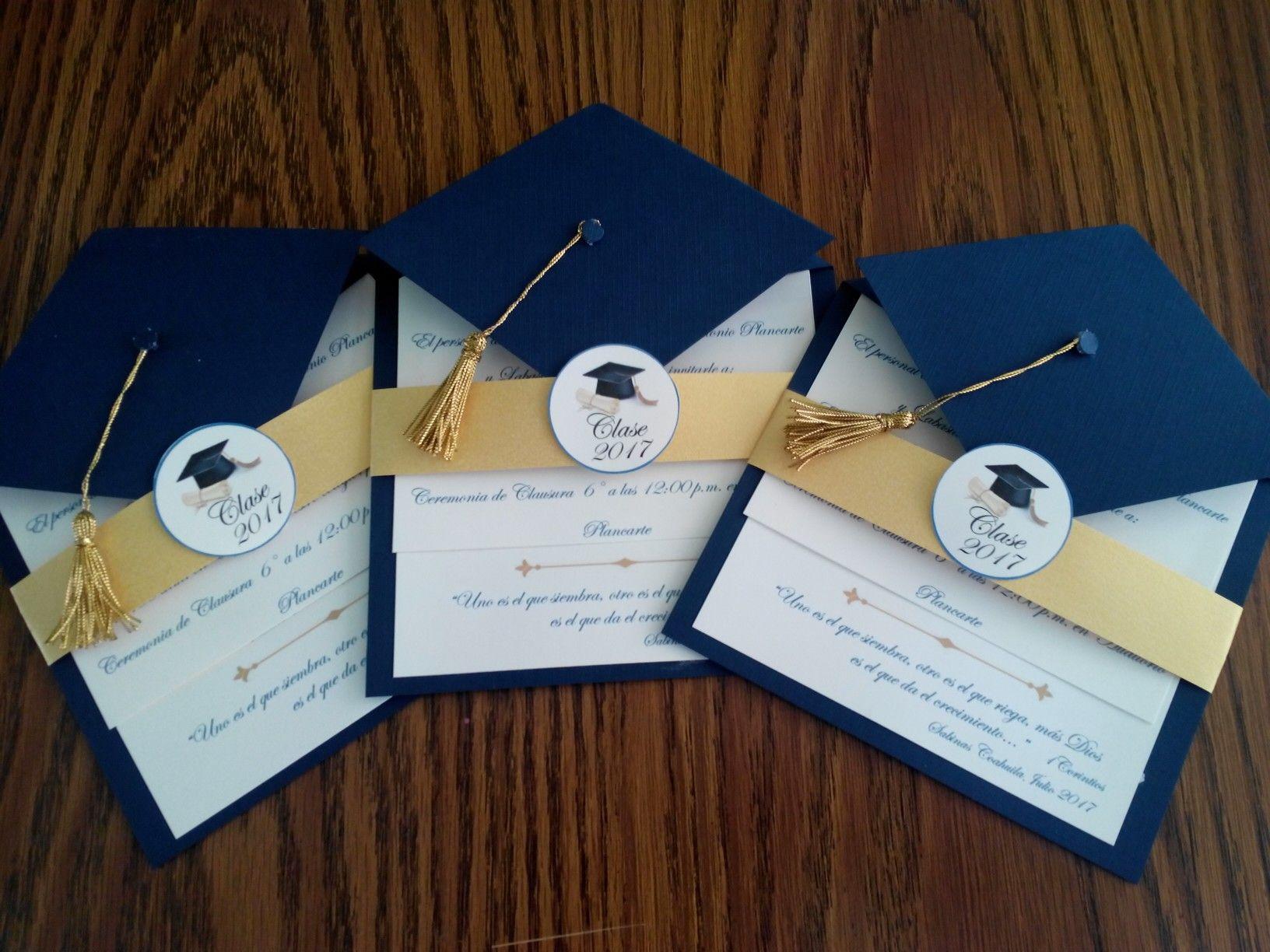 Invitaciones Para Graduaci N