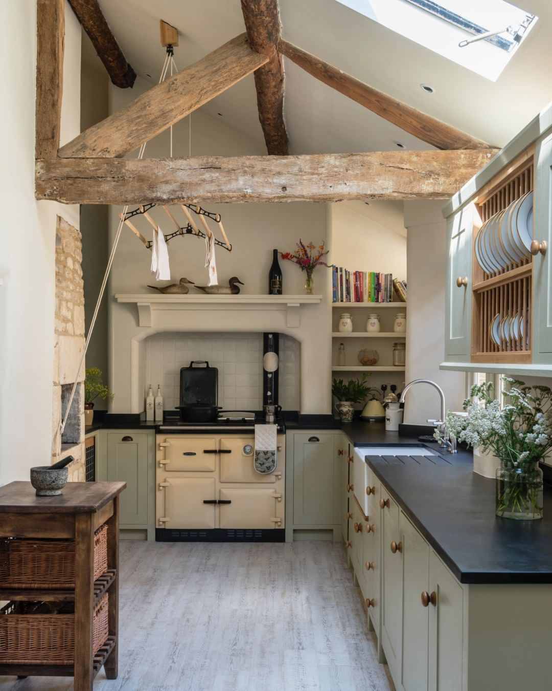 The kitchen of a recently completed project in a beautiful