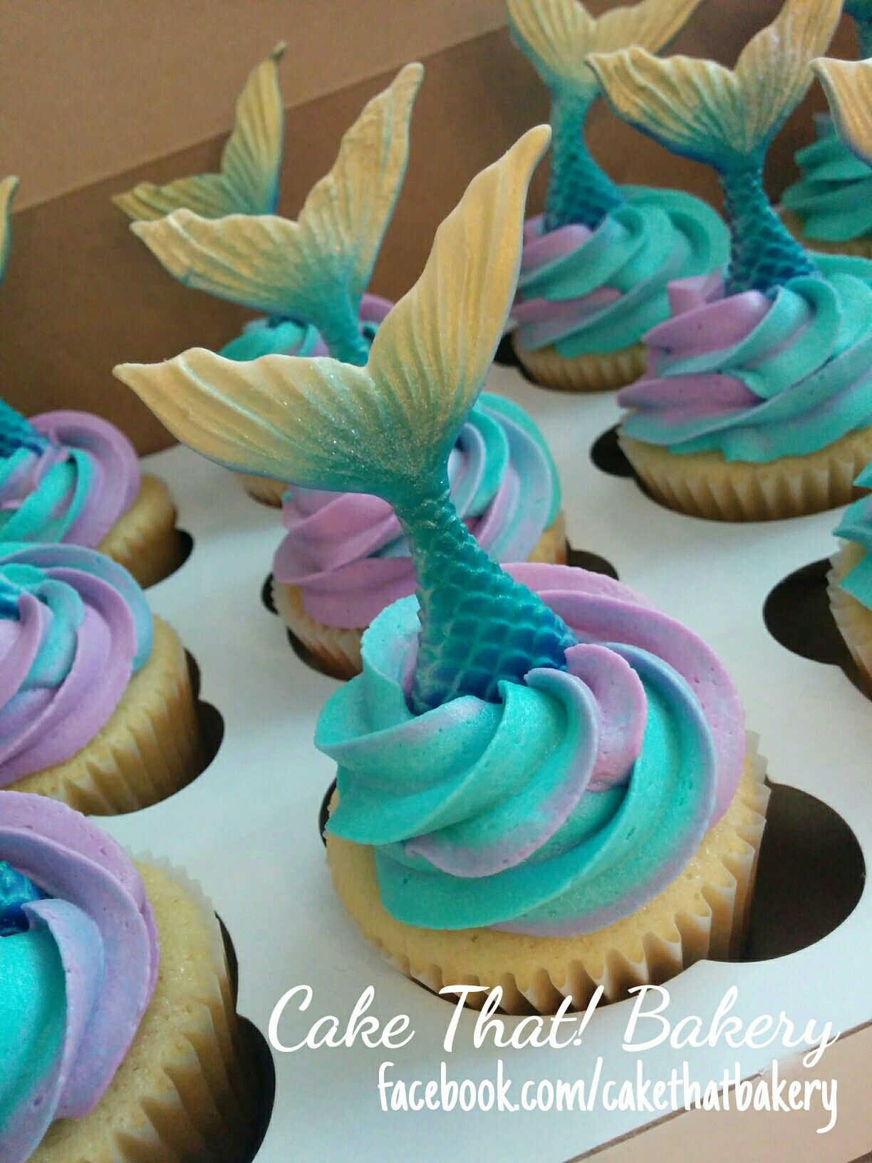 mermaid tail cupcakes Cakes and goodies Pinterest Mermaid