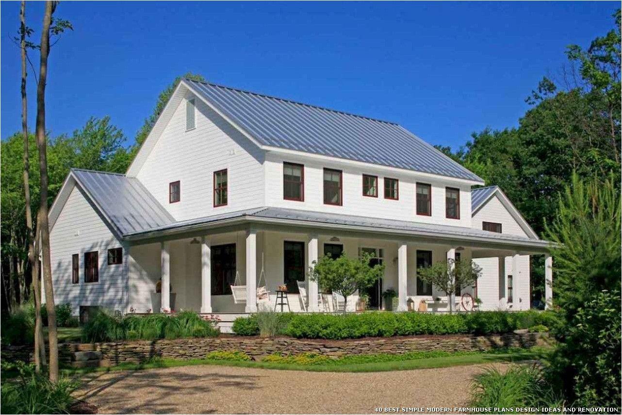 40 Best Simple Modern Farmhouse Plans Design Ideas And Renovation Modern Farmhouse Plans House Designs Exterior Farmhouse Style House