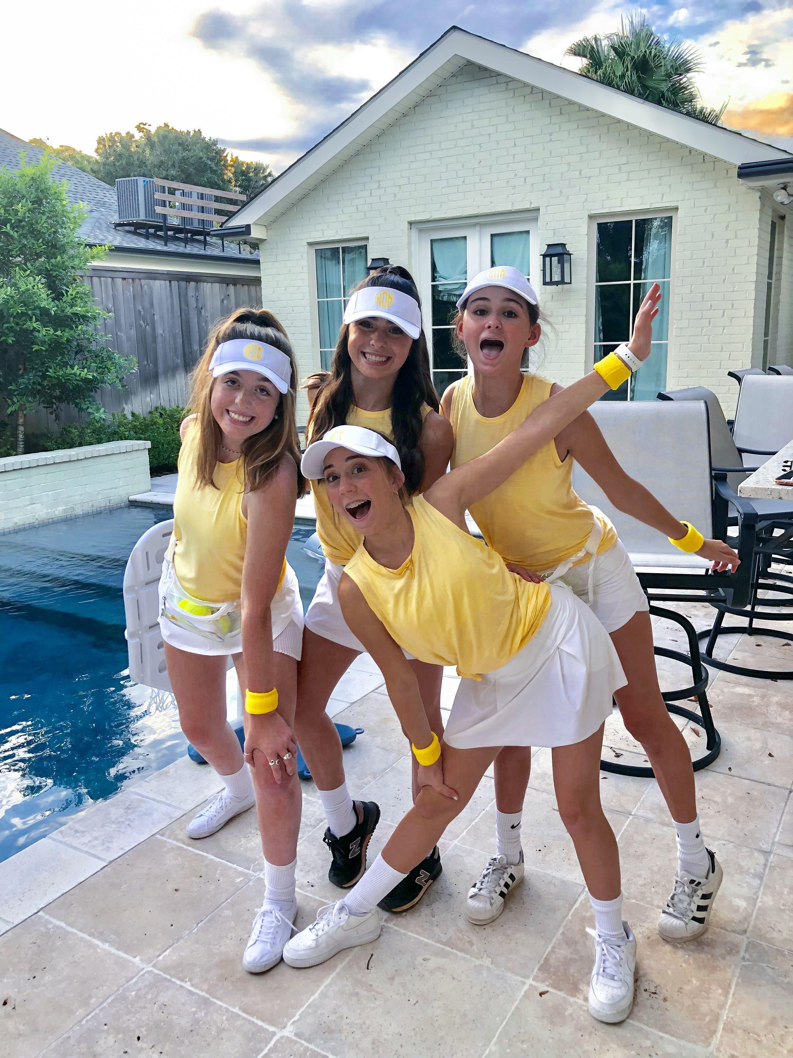 Tennis Player Costume In 2020 Mit Bildern  Teenager -1746