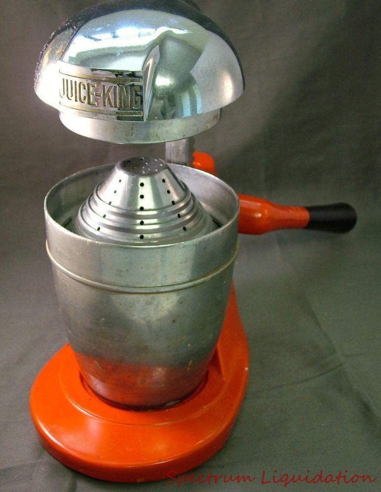 Vintage Juice King Model J.K.30 Juicer
