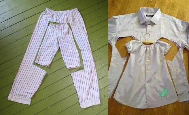 29870e5963545 Reutiliza tu ropa para hacer ropa de niños