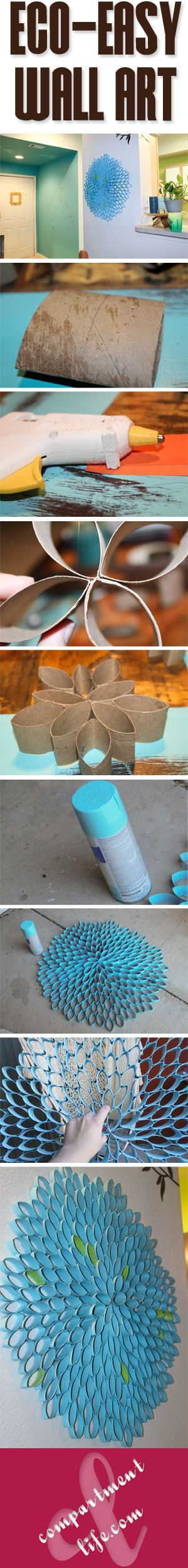 Toilet Roll Flower. Could be cool.