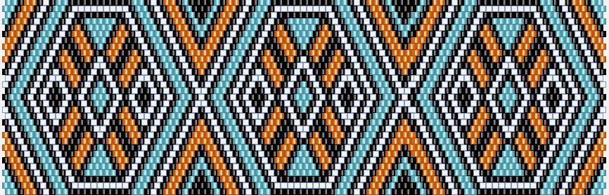 схема мозаика | Mochila haken