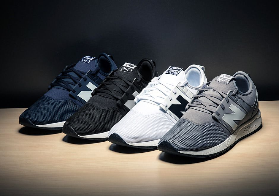 outlet store 8af0b 87018 New Balance introduces the next set of colorways for the popular 247,  featuring classic looks in grey, white, navy, and black.