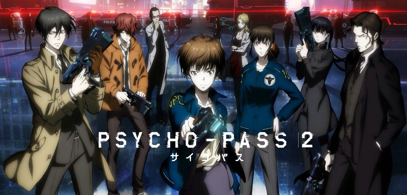 PsychoPass (season 2) ♪ (With images) Psycho pass