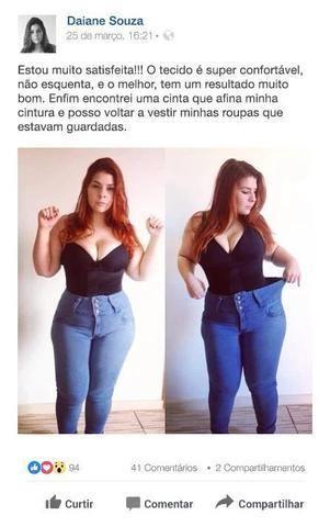 Up Shaper - Modelador de cintura e barriga - Loja Midas