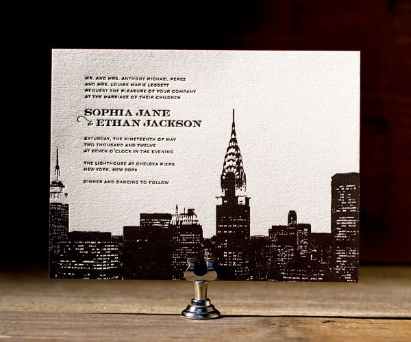 fc900c645c5100b0f2a2bc0dddf220eb 1000 images about invitations on pinterest skyline menu, the,Invitations New York