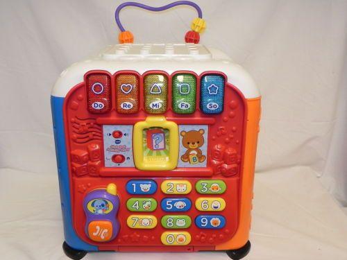 Vtech-Alphabet-Activity-Cube-Learning-Educational-Baby ...