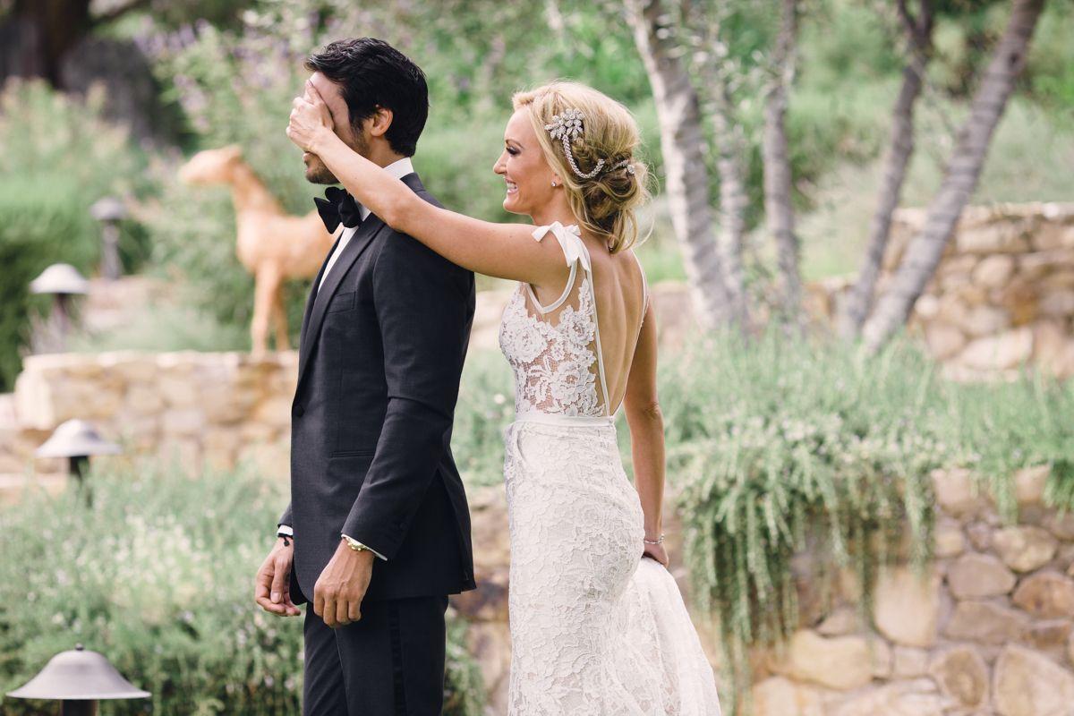Boho glam summer wedding at ojai valley inn