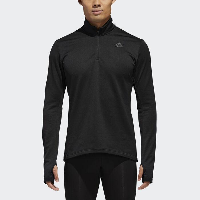 adidas 1/2 zip shirt