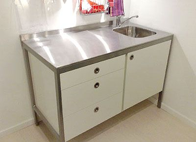 stand alone kitchen sink | arlene designs