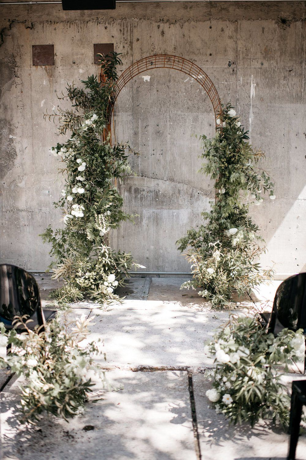 Monochromatic Wedding Inspiration Black and White and Fab All Over
