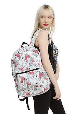"<p>Canvas backpack from Disney's <i>Winnie The Pooh</i> with an allover Winnie The Pooh watercolor print design. Padded back & adjustable straps. Front zip pouch pocket and zip closure.</p>  <p>Hot Topic exclusive!</p>  <p>Note: Print location may vary.</p>  <ul> 	<li>11 1/2"" x 5 1/2"" x 18""</li> 	<li>100% polyester</li> 	<li>Imported</li> </ul>"
