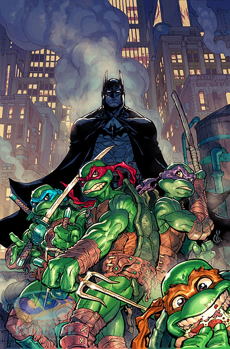 Updated Artists Come Out For Batman Tmnt Variant Covers With