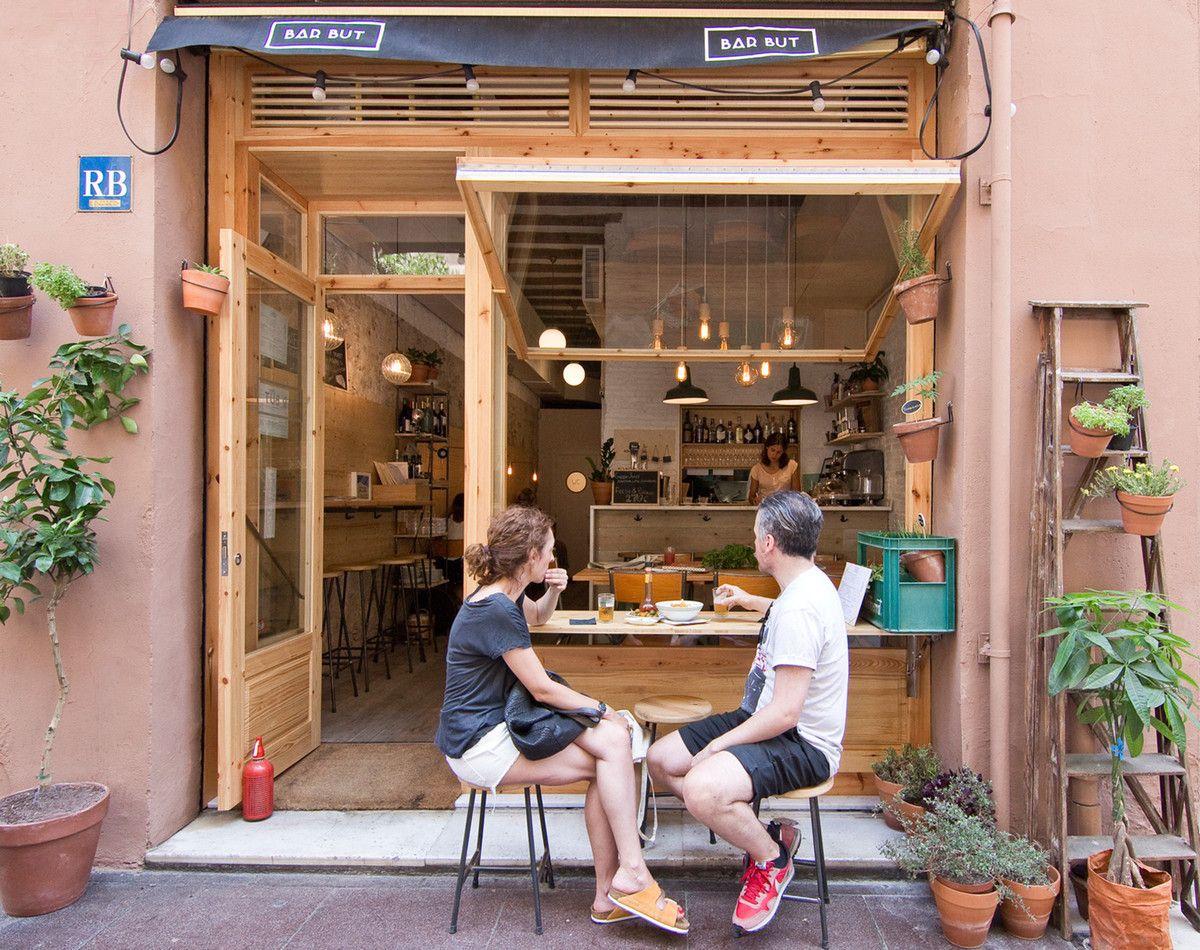 Soplo De Aire Fresco Cafe Shop Design Cafe Interior Design Small Cafe Design
