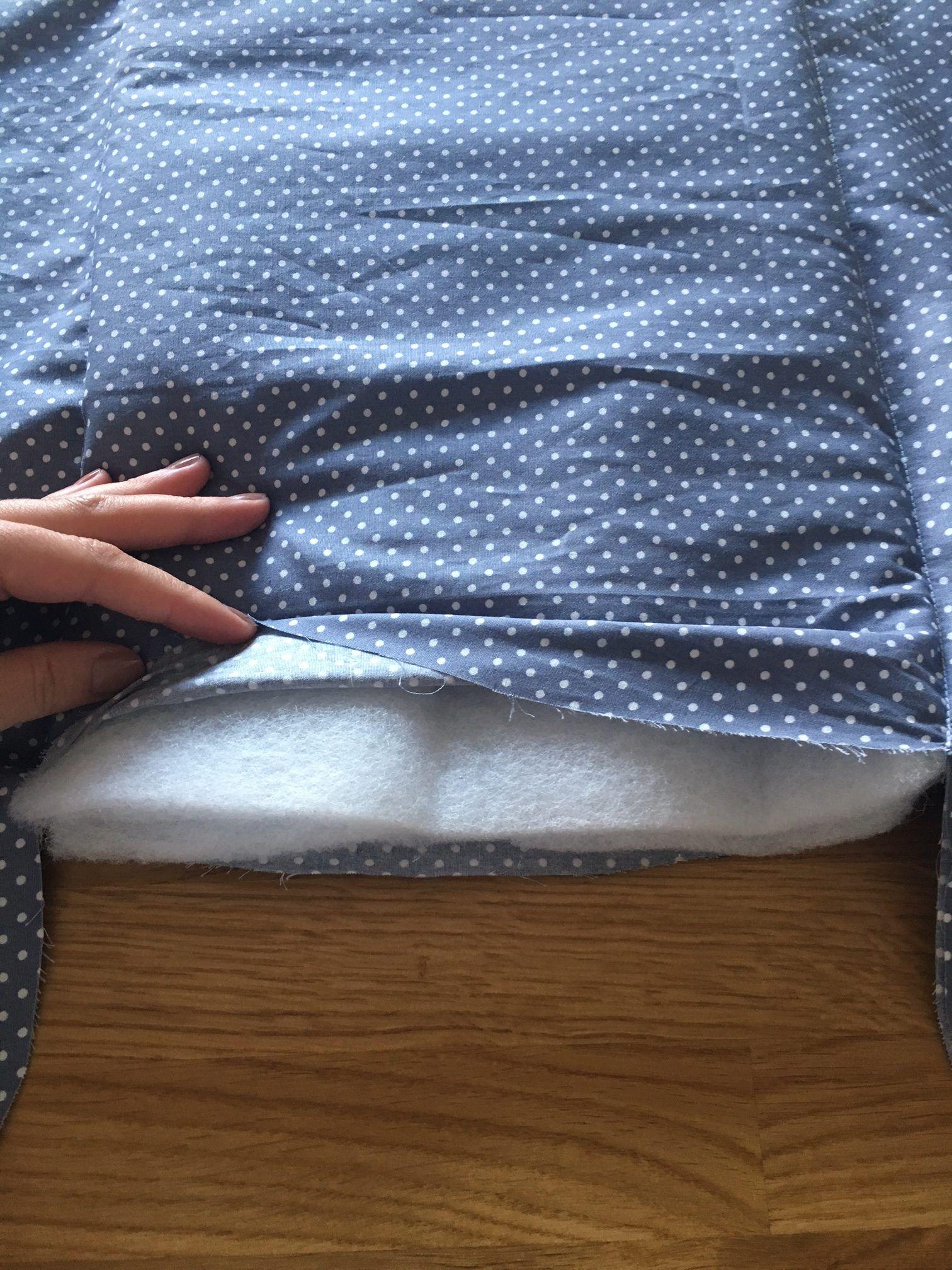 anleitung kuscheliges babynest n hen mit schnittmuster pdf. Black Bedroom Furniture Sets. Home Design Ideas
