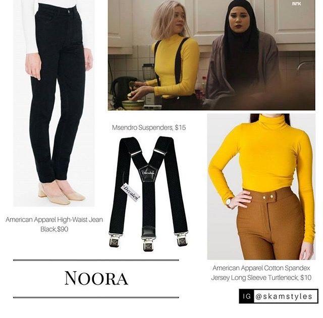 Amazing Noora outfit  Skam