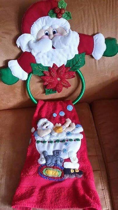Toallero mu ecos pinterest toallero navidad y - Porta toallas para bano ...