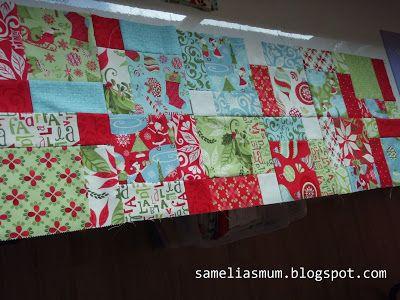 12 Days Of Christmas Runner Tutorial Christmas Table Runner Pattern Christmas Runner 12 Days Of Christmas