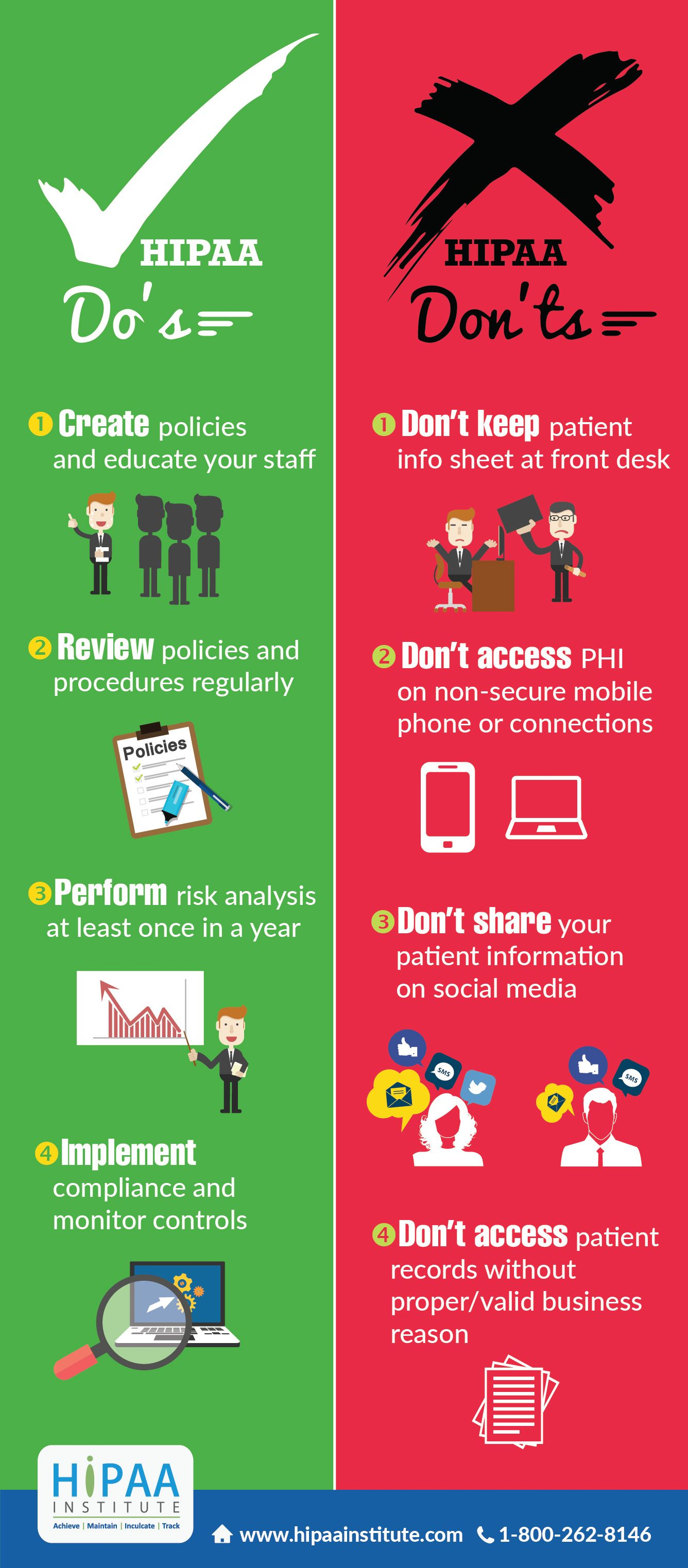 Here Are The DoS  DonTs Of Hipaa Compliance From The Hipaa