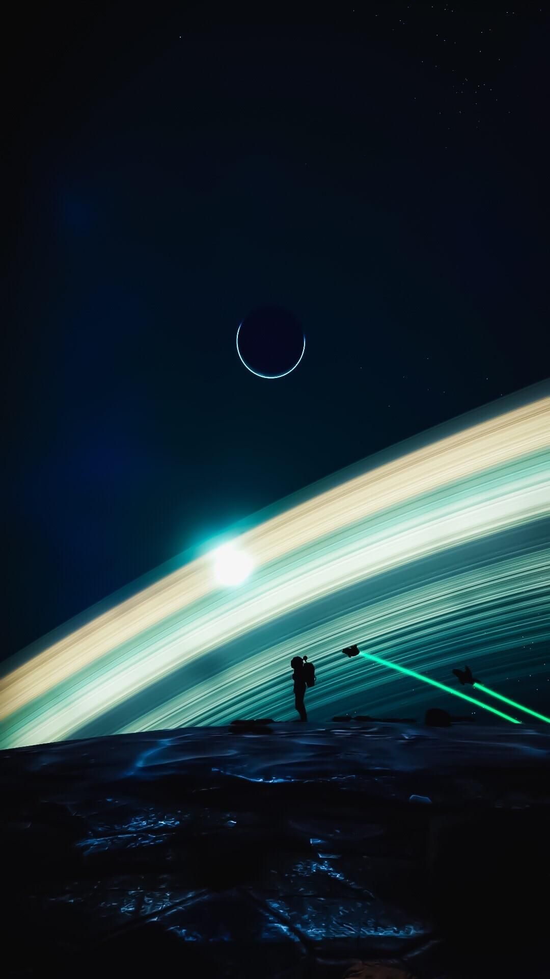 Welp Theres The Mobile Wallpaper Shot Space Art Mobile