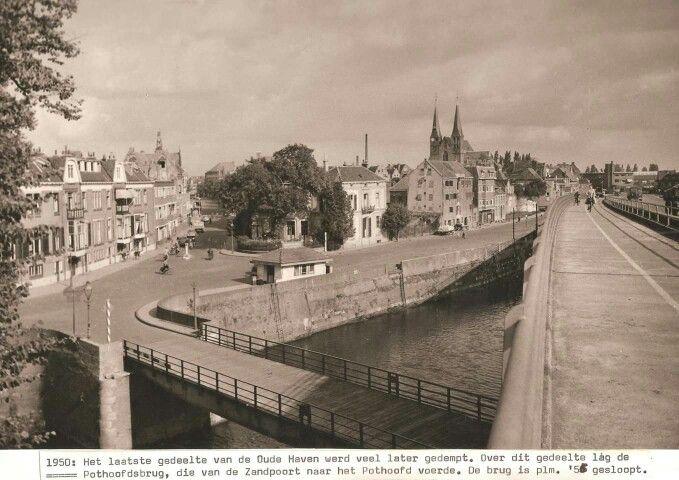 Pothoofdsbrug jaren 50. Deventer