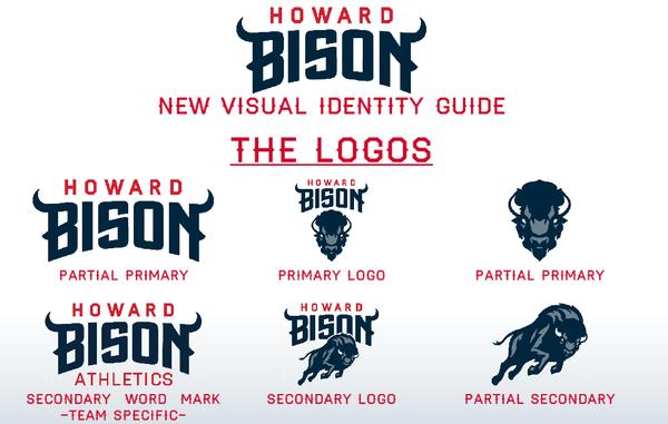 Howard University Unveils New Bison Howard University College Logo University