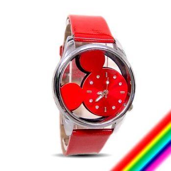 525daae29ea Supernova crianças marca relógio de pulso pulseira de couro colorido  relógios Mickey Mouse criança ostenta alta qualidade quatz relógio de pulso  9687