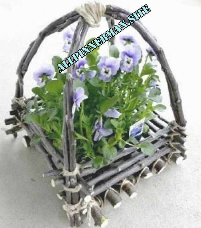 † how to make a twig basket by megan #twigfurniture † how to make a twig basket by megan | Twig